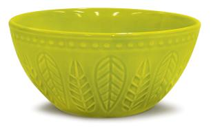Bowl Alto Relieve Verde Mint Corona 550Ml Yoi