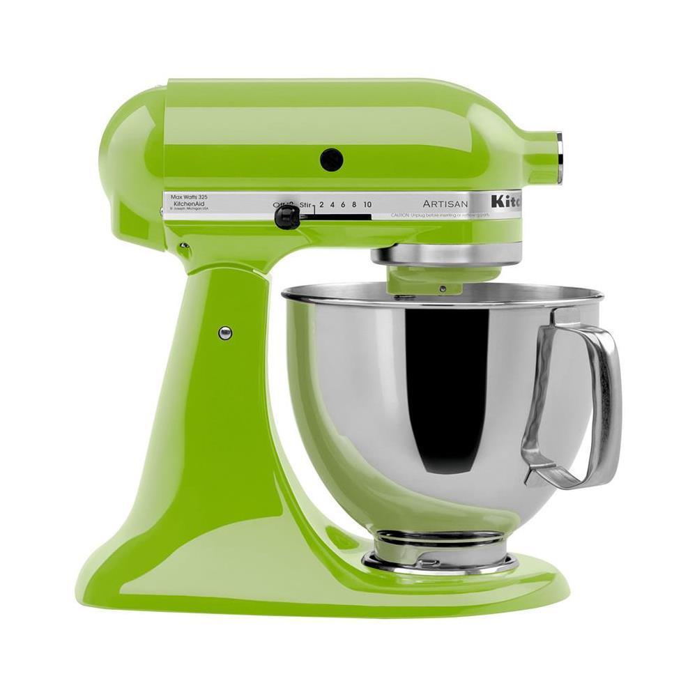 Batedeira Kitchenaid Stand Mixer Green Apple 110V