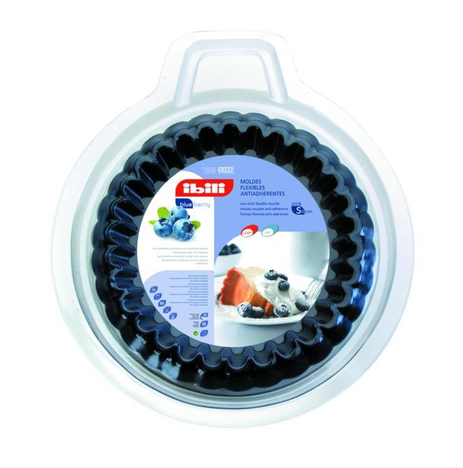 Conjunto 2 Formas Caneladas Para Mini Tortas 12 Cm Ibili - 870700