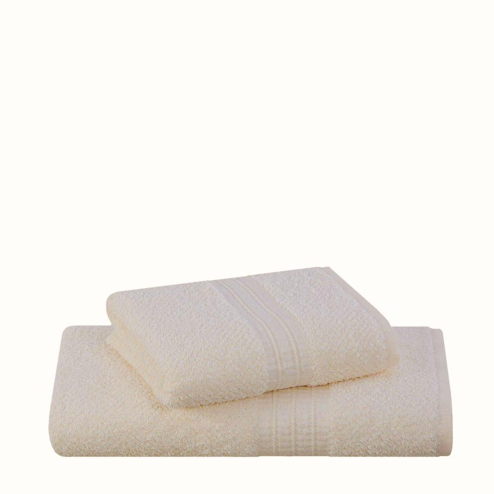 Toalha Rosto Frape 48/80 Cm  Cor 1702 -Bege