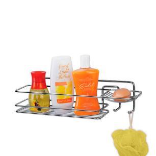 Suporte Para Shampoo Retangular Cromado Arthi - 1241