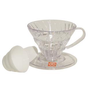 Suporte Para Filtro De Café Hario Mod V60-01 Transparente