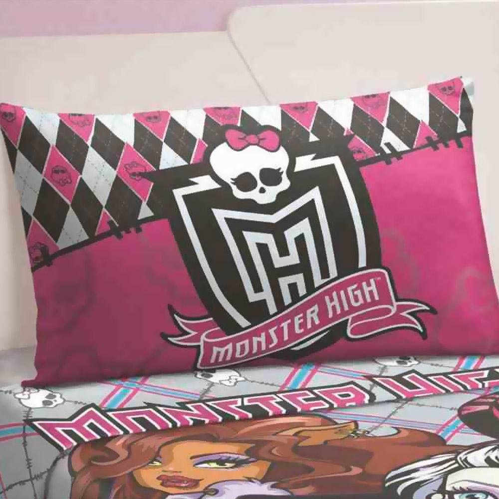 Fronha Monster High Lepper 50 X 70 Cm