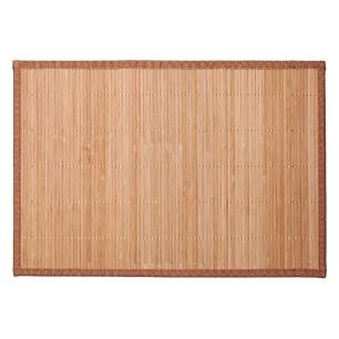 Lugar Americano 30X45Cm Bamboo Shiga Caramelo Corttex - 9332/7692