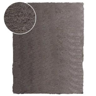 Tapete Chines Silk Shaggy (E3) 1.40X2.00 Cinza