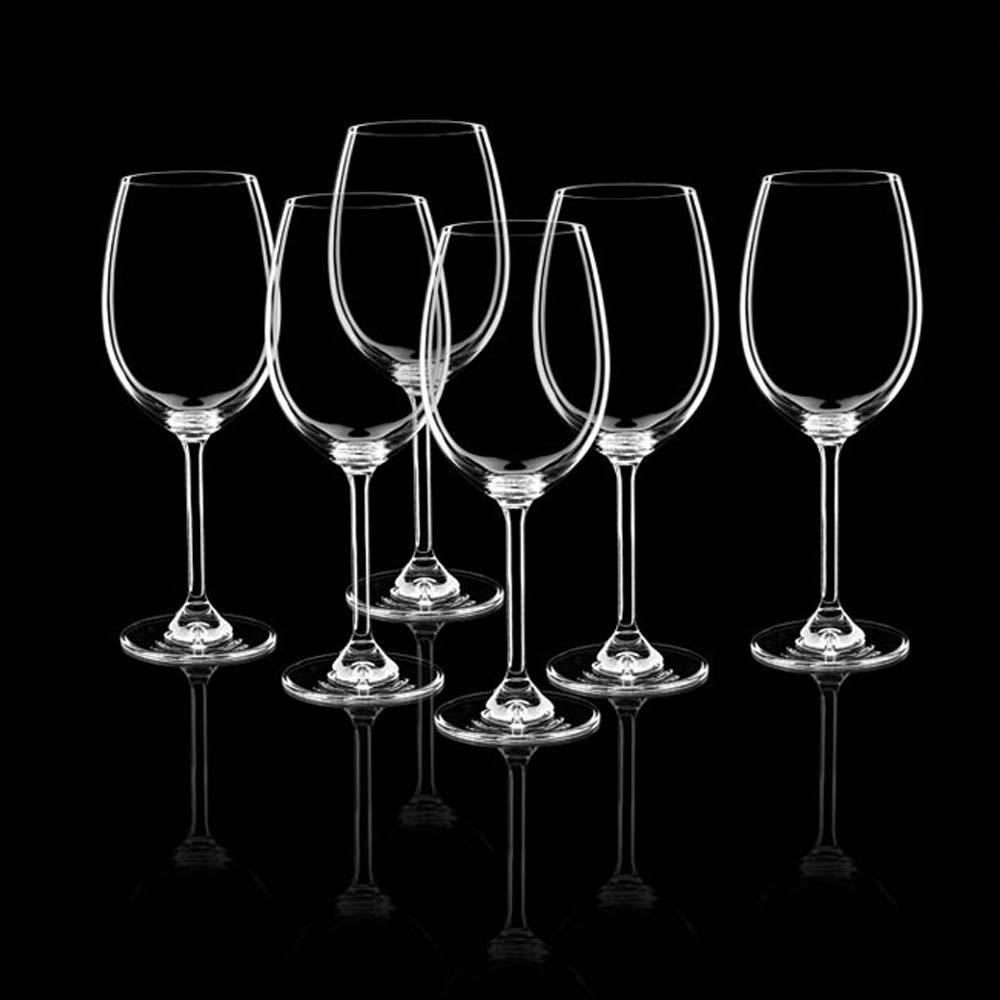 Taça Para Vinho 450Ml 6 Peças Bohemia