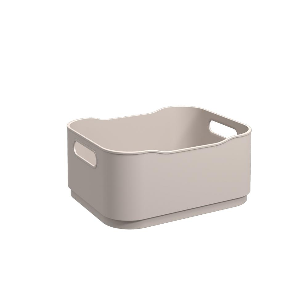 Cesta Fit Pequena Light Gray Coza