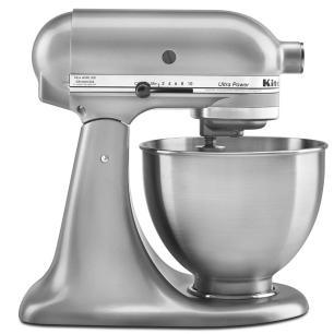 Batedeira Kitchenaid Stand Mixer Silver 110V