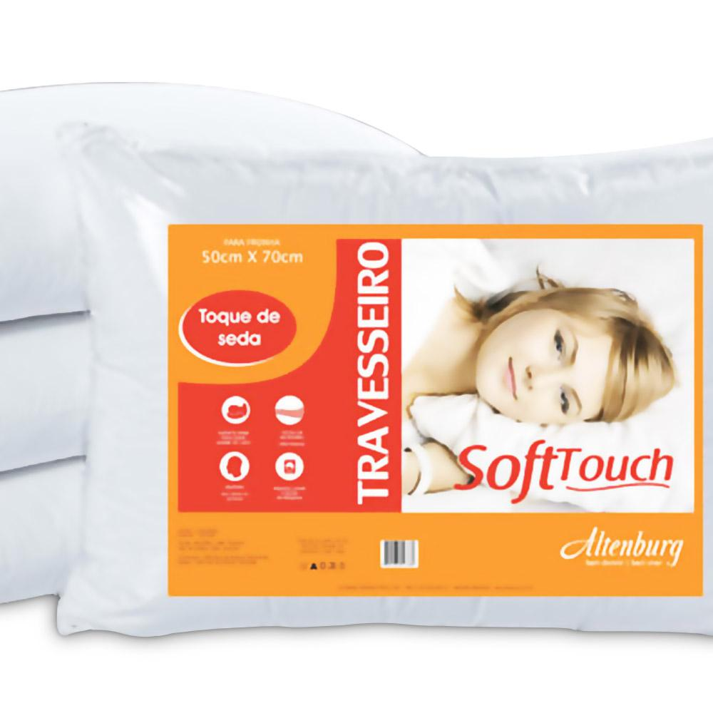 Travesseiro Soft Touch 0,50 X 0,70 Cm Altenburg