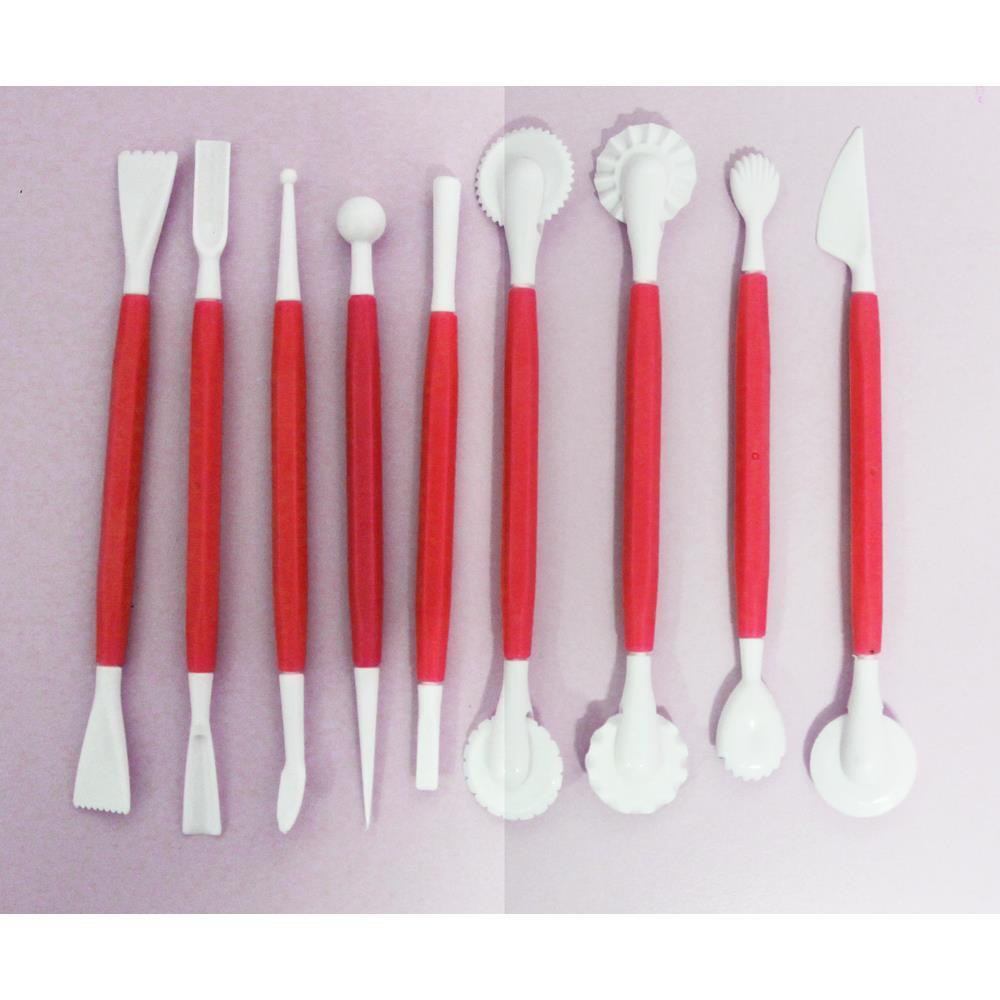 Kit Para Confeitaria Vermelho Basic Kitchen
