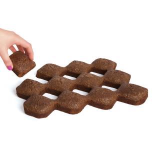 Forma Para Brownie Bakelicious Antiaderente Para 12 Bolinhos - 73843