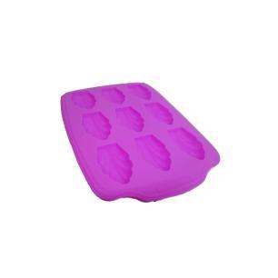 Forma Silicone Com 9 Conchas 30X20X1.6 Cm Roxo Basic Kitchen