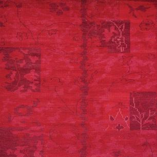 Tapete Indiano Ancient Vintage 2.00X2.50 Cor Vermelho
