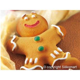 Forma De Silicone Mr Ginger Silikomart - 20.325.63.0068