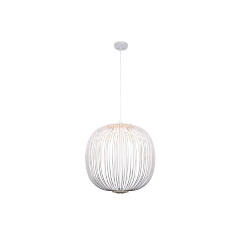 Pendente Aral Branco com LED Integrado 8w Bella