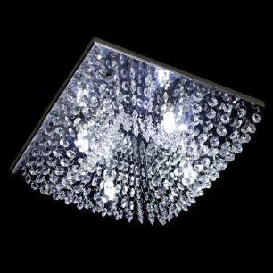 Lustre Plafon Quadrado 30x30x10cm - Jp/Kyoto/30