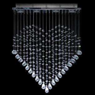 Lustre Plafon em Formato de Coração - JP-Kokoro-60