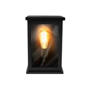 Arandela Shelter Com Vidro com 1 Lâmpada LED Pêra