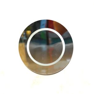 Arandela Rebatedor Espelhado em Acrílico para 2*G9
