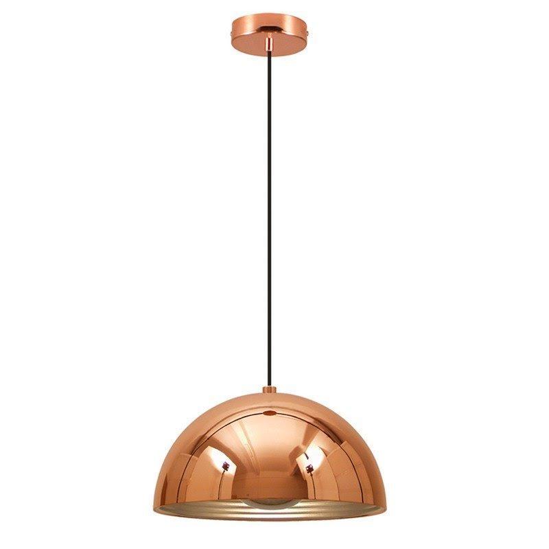 Luminária Pendente Cobre Espelhado 1*E27 - SE500A