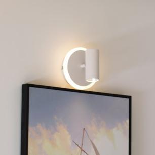 Arandela Redonda LED Branco Quente 12W - EDC12220
