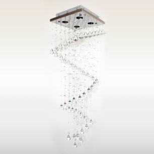 Lustre De Cristal Peão Caracol - Jp/Ishikawa/28