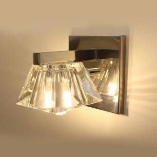 Arandela Glass B com Vidro Transparente para 1*G9