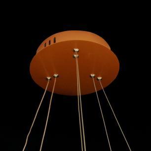 Pendente 2 Aneis com LED Integrado 3000k 50w Bivolt