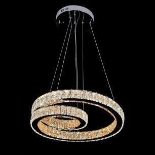 Pendente em Cristal com LED Trifásico 72W EDE11218
