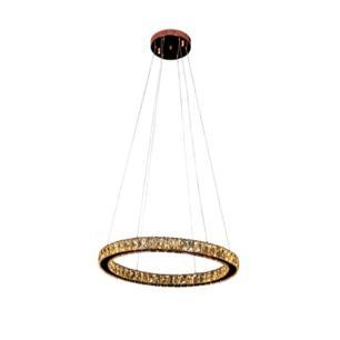 Pendente Aura Piccola Cobre e Champagne com LED