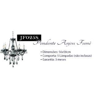 Lustre Anjou Fume Para 5 Lâmpadas E14 - JF025S