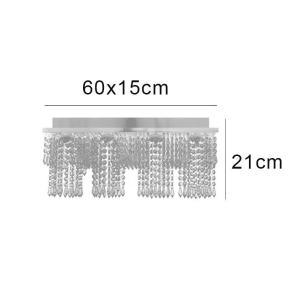 Lustre Infinity 60x15x21cm para 4 Lâmpadas GU10