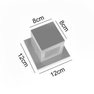Arandela + Lâmpada LED 5w G9 Branco Frio 220v Laila