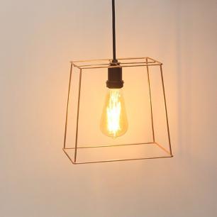 Pendente Aramado Cube-M para 1 Lâmpada E27