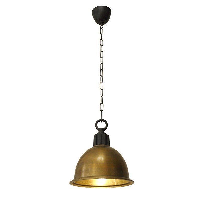 Pendente Balia Ouro Velho para 1 Lâmpada E-27