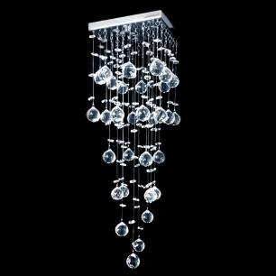 Lustre De Cristal Mie Quadrado - Jp Mie 17