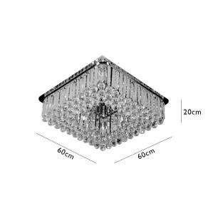 Plafon Quadrado para 12 Lâmpadas G9 - EDY11221