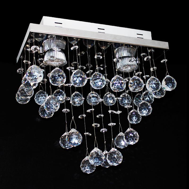 Lustre De Cristal Retangular 30x15x25cm - Jp/Saitama/30