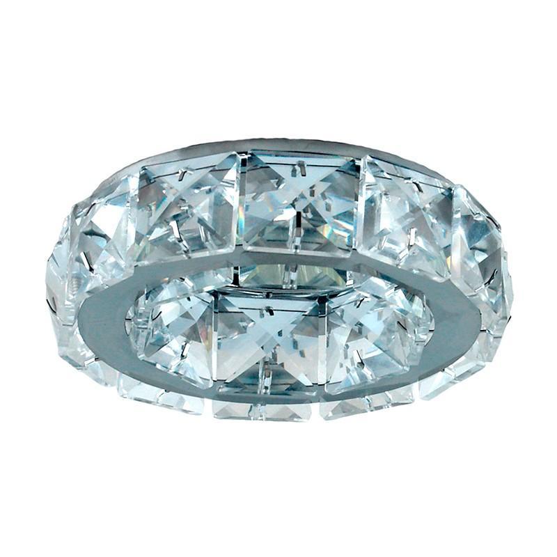 Spot Embutido Cristal Shine Bella Ø10cm GU10