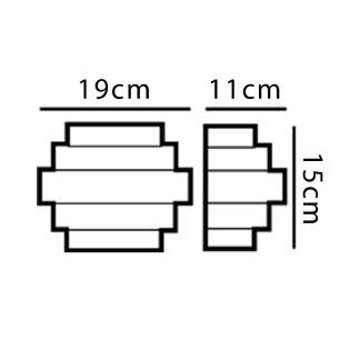 Arandela Citadel Interna/Externa Led 6w Dn-31774