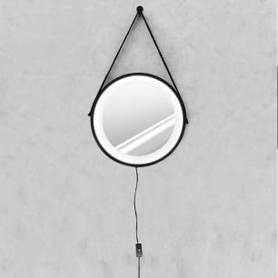 Espelho Adnet 50cm com LED Branco Frio e Botão