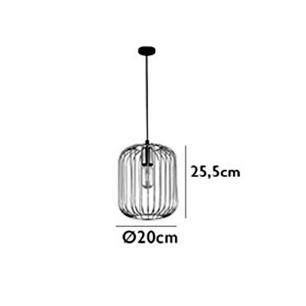 Pendente Fill Cobre para 1 Lâmpada E27 - PD013A