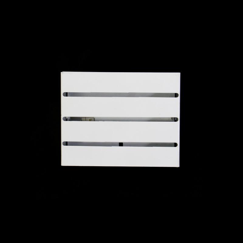 Arandela Retangular Ciclope Plus Branca para 1 Lâmpada G9