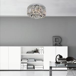 Plafon Redondo para 6 Lâmpadas G9 - EDY11226