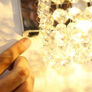 Arandela Alcoutim com Botão Lado Esquerdo para G9