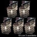 Kit 5 Arandelas Arsaga de Cristal - KIT5ARSAGA_11