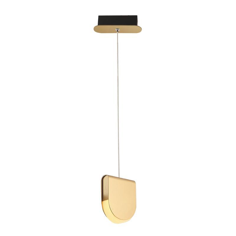 Pendente Dourado Fosco LED Branco Quente EDE12714