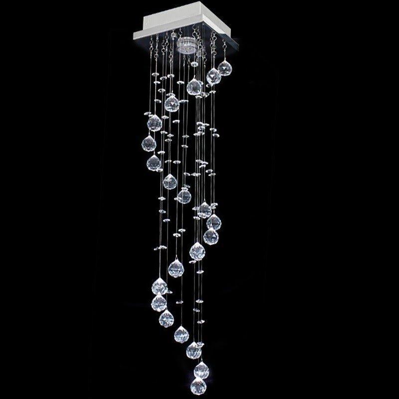 Lustre De Cristal Original Caracol Quadrado 17x17x70cm - Jp/Hokkaidoslim/17