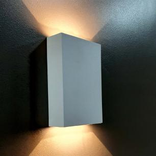 Arandela Facho Duplo com LED 4w Branco Quente