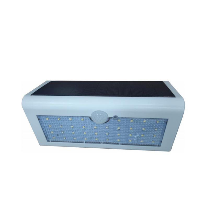 Arandela Solar Externa Branca M2 LED Branco Frio